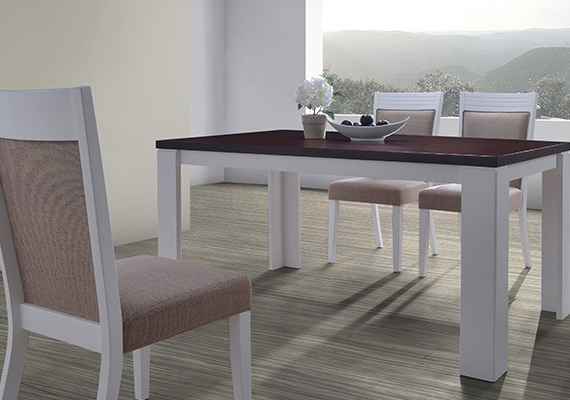 SF DT8998 Mallila Dining Table  <br>SF DC5209 Aroma Dining Chair